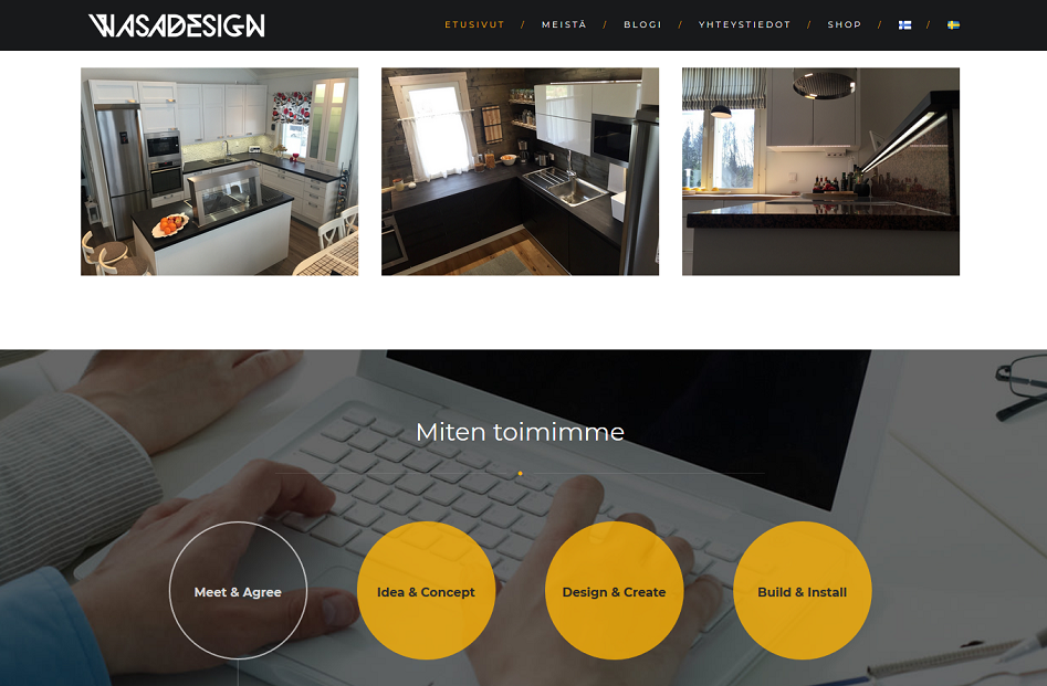 Wasadesign - Website