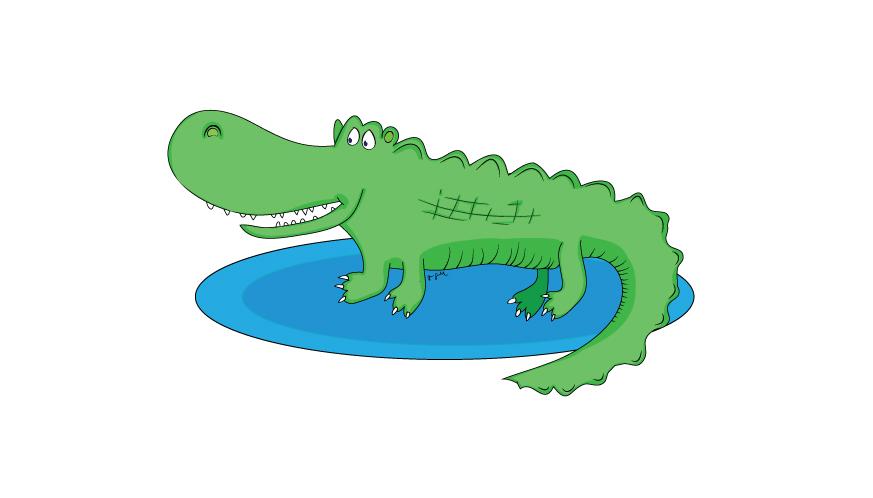 Croc - poster